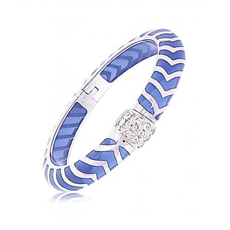 Angélique De Paris Mata Hari Periwinkle Bracelet