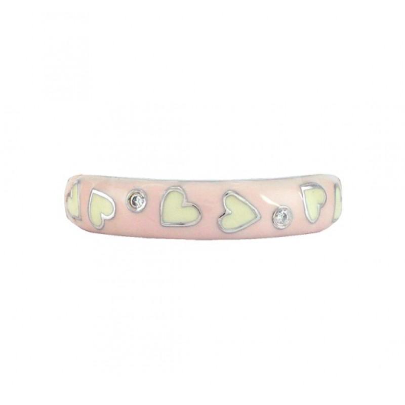 Hidalgo Enamel Hearts Ring RS7743BP.OPWG