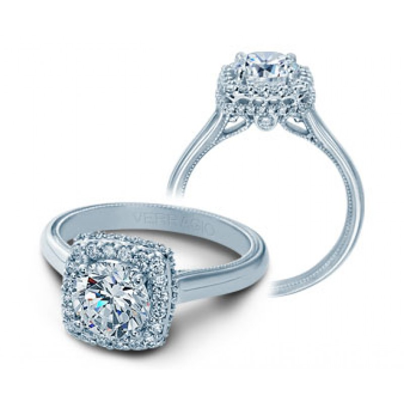 Verragio Classic Diamond Engagement Ring V-927CU7