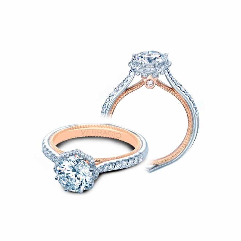 Verragio Couture Diamond Engagement Ring ENG-0459R-2WR
