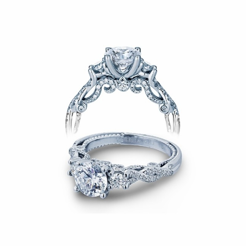 Verragio Insignia Diamond Engagement Ring INS-7074R