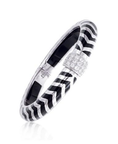 Angélique de Paris Mata Hari Black Bracelet 18490