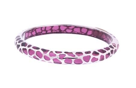 Angélique de Paris Safari Thin Purple Bracelet 20442