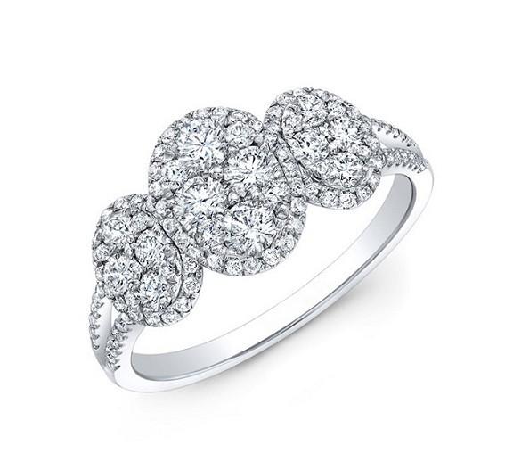 Diamond Cluster Ring 25381