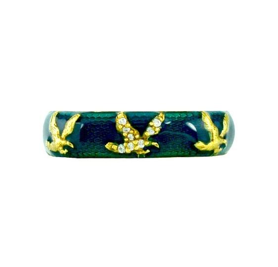 Hidalgo Eagle Enamel Ring RS7758BE