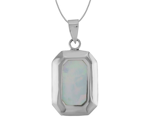Pink Mother of Pearl Pendant 25213