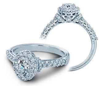 Verragio Classic Diamond Engagement Ring V-908OV