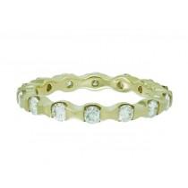 Bar Channel Diamond Eternity Ring Top 14238