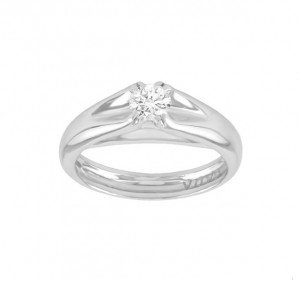 Escada Contoured Diamond Engagement Ring Top 03T9-DQ