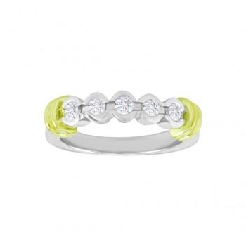 Semi Bezel Set Diamond Ring 23972